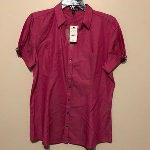 Satin Pink Express Dress Top